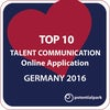 Top 10 Talent Communication - Online Application - Germany 2016