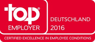 top EMPLOYER 2016 - Deutschland 2016