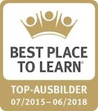 BEST PLACE TO LEARN - Top-Ausbilder 07/2015 - 06/2018