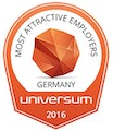 Universum Most Attractive Employers Germany 2016